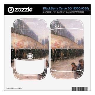 Childe Hassam - Rue Bonaparte Decals For BlackBerry