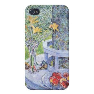 Childe Hassam - señora Hassams Garten en Hampton d iPhone 4 Protectores