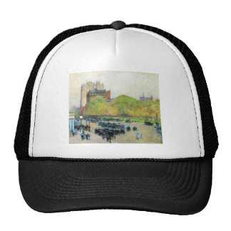 Childe Hassam - Spring morning in the heart of the Trucker Hat