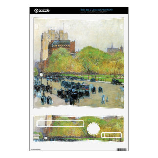Childe Hassam - Spring morning in the heart of the Xbox 360 S Console Skins