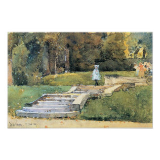 Childe Hassam - St Cloud Mn Poster