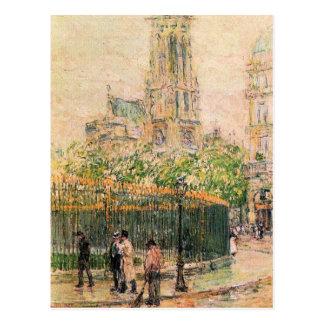 Childe Hassam - St Germain l ` Auxerrois Postal