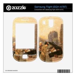 Childe Hassam - St Michel Skins For Samsung Flight