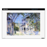 "Childe Hassam - Street in Portsmouth Decals For 15"" Laptops"