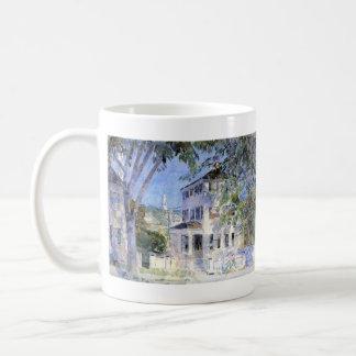 Childe Hassam - Street in Portsmouth Coffee Mugs