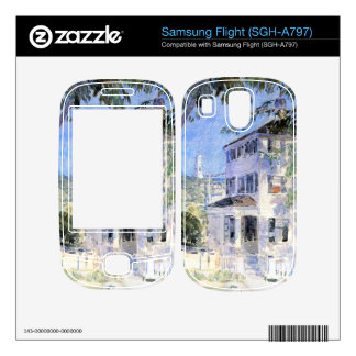 Childe Hassam - Street in Portsmouth Decal For Samsung Flight
