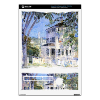 Childe Hassam - Street in Portsmouth Xbox 360 S Console Skins