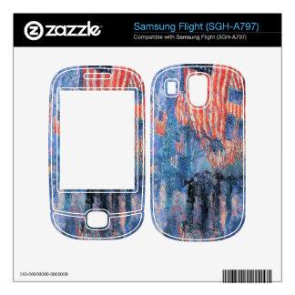 Childe Hassam - Street in the rain Samsung Flight Skins
