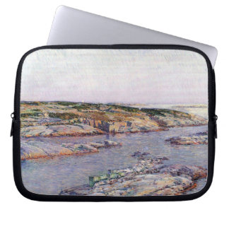 Childe Hassam - Summer afternoon the Isles of Shoa Laptop Sleeves