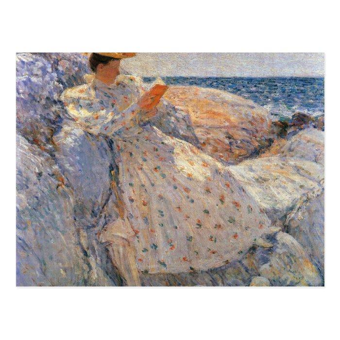 Childe Hassam - Summer sunlight Postcard