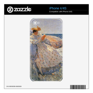 Childe Hassam - Summer sunlight Skin For The iPhone 4