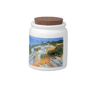 Childe Hassam - Sunday morning Appledore Candy Jars