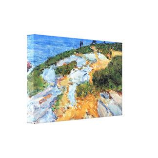 Childe Hassam - Sunday morning Appledore Gallery Wrap Canvas