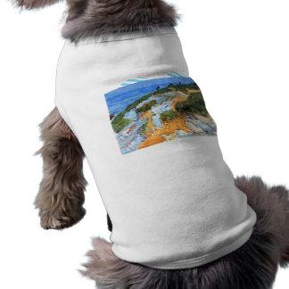 Childe Hassam - Sunday morning Appledore Doggie Tshirt