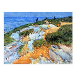 Childe Hassam - Sunday morning Appledore Postcard