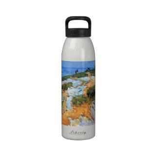 Childe Hassam - Sunday morning Appledore Water Bottle