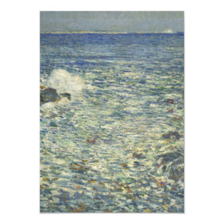 Childe Hassam - Surf, Isles of Shoals Card