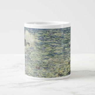 Childe Hassam - Surf, Isles of Shoals Large Coffee Mug