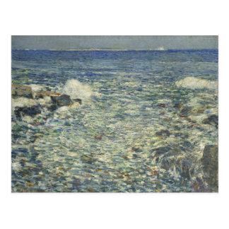 Childe Hassam - Surf, Isles of Shoals Postcard