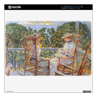 """Childe Hassam - Ten Pound Island Decal For 11"""" MacBook Air"""