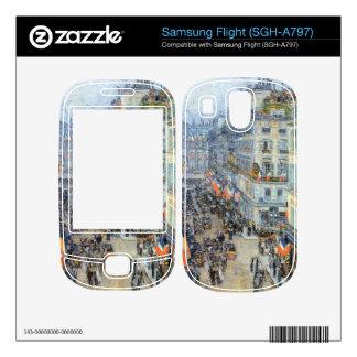 Childe Hassam - The 14th July Rue Daunou Skins For Samsung Flight