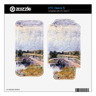 Childe Hassam - The bridge from Old Lyme Skin For HTC Desire S