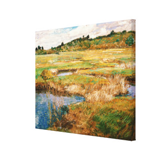 Childe Hassam - The Concord Meadow Canvas Print