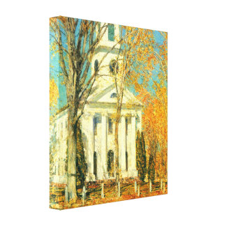 Childe Hassam - The day of the Grand Prize Stretched Canvas Prints