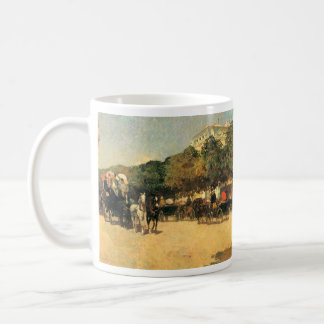 Childe Hassam - The day of the Grand Prize Coffee Mug