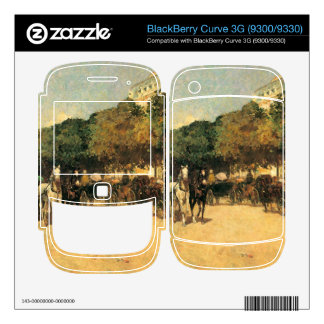Childe Hassam - The day of the Grand Prize BlackBerry Curve 3G Skins