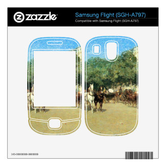 Childe Hassam - The day of the Grand Prize Samsung Flight Decal
