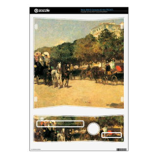 Childe Hassam - The day of the Grand Prize Xbox 360 S Decals