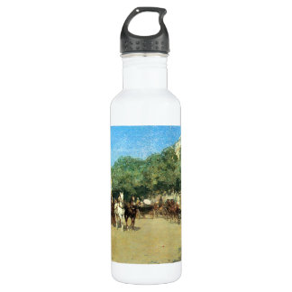 Childe Hassam - The day of the Grand Prize Stainless Steel Water Bottle