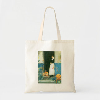 Childe Hassam - The fruit trader Tote Bag
