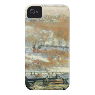 Childe Hassam - The hut and the skyscrapers iPhone 4 Cover