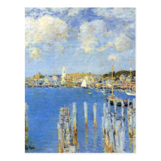 Childe Hassam - The inland port of Gloucester Post Card