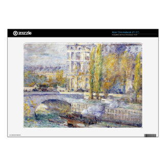 Childe Hassam - The Louvre on Pont Royal Acer Chromebook Skins