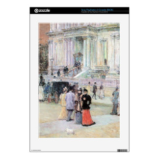 Childe Hassam - The Manhattan Club (The Villa of t Decals For PS3