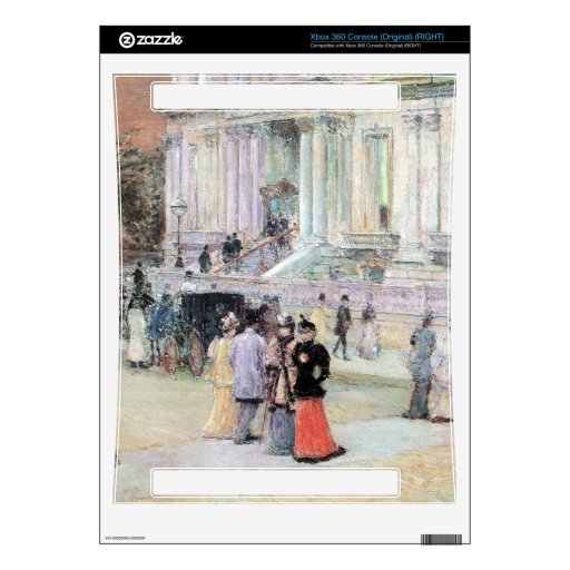 Childe Hassam - The Manhattan Club (The Villa of t Skin For The Xbox 360