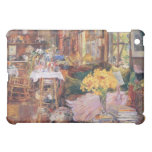 Childe Hassam - The room of flowers iPad Mini Cover