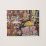 Childe Hassam - The room of flowers Jigsaw Puzzles