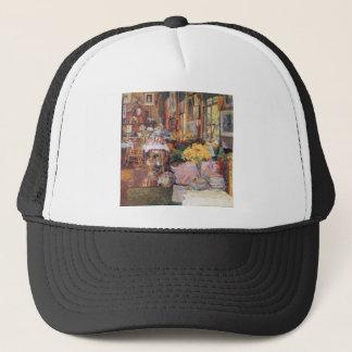 Childe Hassam - The room of flowers Trucker Hat