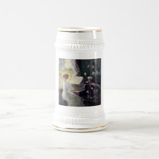 Childe Hassam - The Sonata Beer Stein