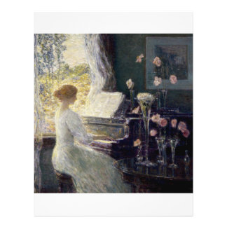 Childe Hassam - The Sonata Flyer