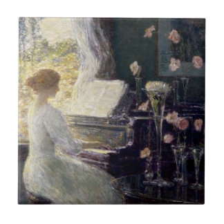 Childe Hassam - The Sonata Tile