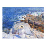 Childe Hassam - The Southern rock riffs Appledore Postcards