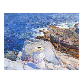 Childe Hassam - The Southern rock riffs Appledore Post Cards
