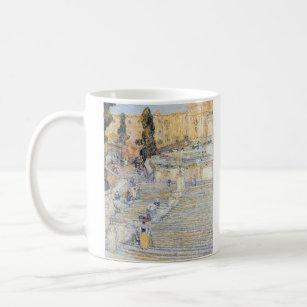 Childe Hassam   The Spanish Steps Coffee Mug