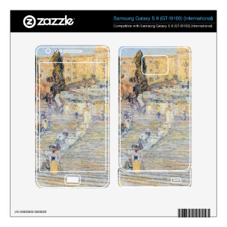 Childe Hassam - The Spanish steps Samsung Galaxy S II Decal
