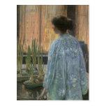 Childe Hassam - The table garden Postcard